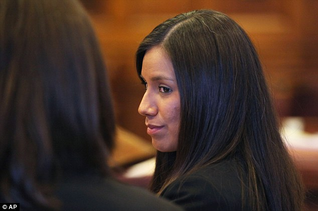 Wright, a 30-year-old single mother, is slated to stand trial in May. She has pleaded not guilty to all charges