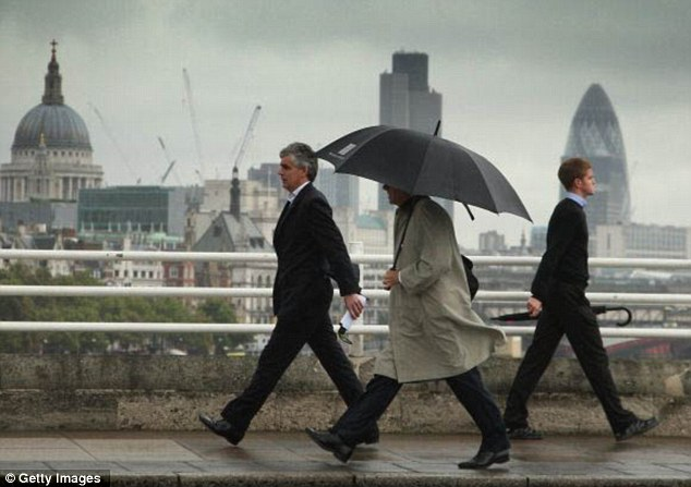 Disaster: The UK fears that the top talent working in the City will leave London for rivals like New York where bonuses would be higher