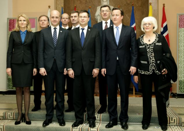The Northern Future Forum brings together prime ministers from Nordic and Baltic countries and Britain in Riga, Latvia