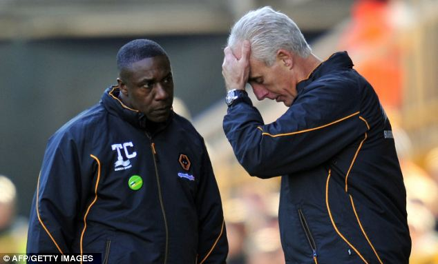 Hit and miss: Ex-boss Mick McCarthy (right) was hit and miss with his signings, but there has been no sign of improvement since he left
