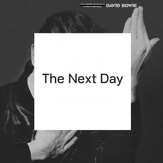 David Bowie has reworked his original 1977 Heroes album cover for his latest release The Next Day - which goes on sale on March 11