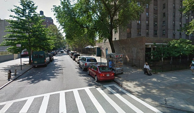 'Kidnapped': According to reports, prosecutors allege the unidentified escort was held by a client on West 92nd Street and Columbus Avenue, pictured