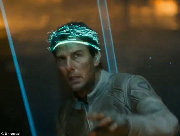 So Tron Legacy: Director Joseph Kosinski's style is apparent in this particular still from the film