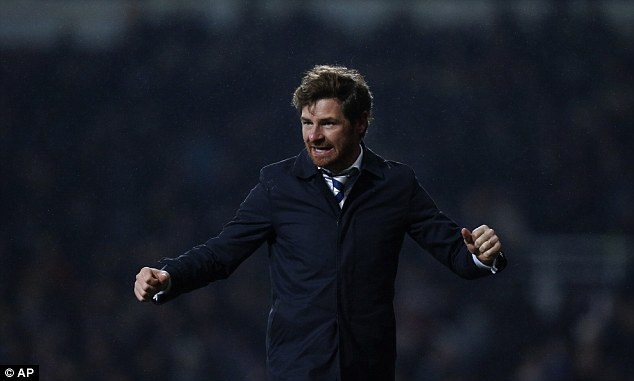 Target: Andre Villas-Boas said it would be 'tremendous' if Tottenham finished ahead of Arsenal