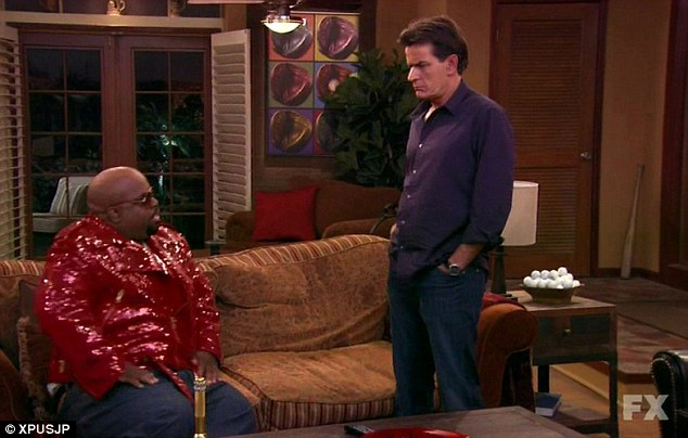 Guest star: Cee Loo Green, who plays a spoof version of himself, interrupts Charlie in the middle of his saucy clinch