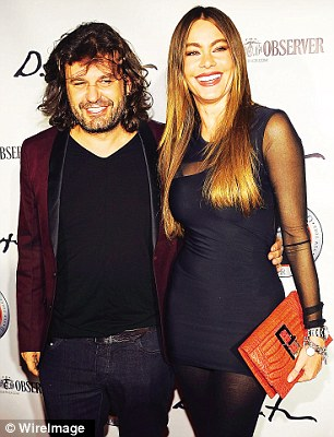 Domingo Zapata and Sofia Vergara