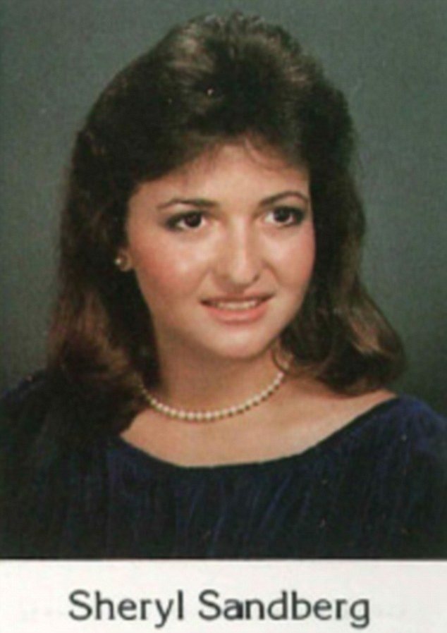 Before she was famous: Facebook COO Sheryl Sandberg as a Miami teenager on the brink of leaving high school