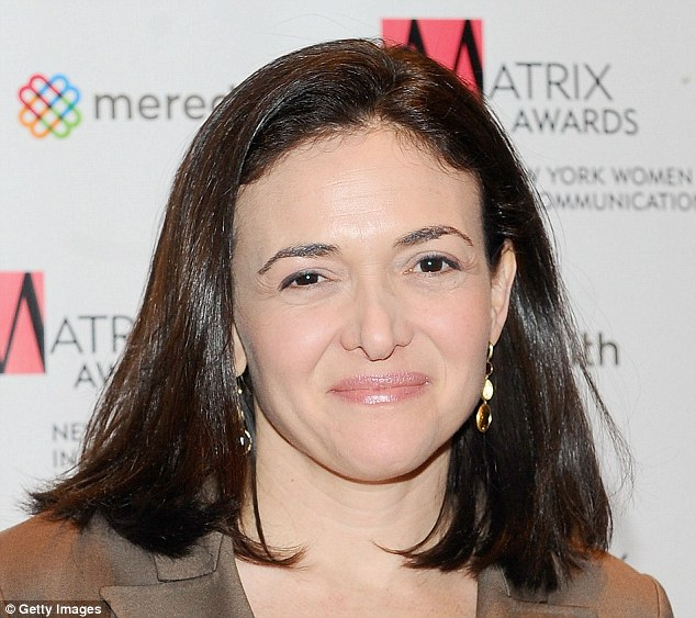 Boss lady: Sheryl Sandberg joined Facebook in 2008 as COO with a brief to make the company more profitable