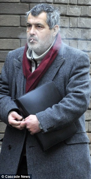 Carlos Machado was found guilty of plundering Brian Farlow's savings account of more than £25,000 and spent it on scratchcards and designer clothes