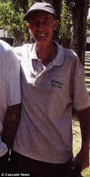 Victim: Brian Farlow, 63, was dying of bone and lung cancer
