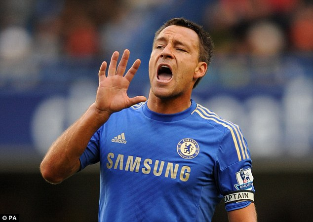 Mr Chelsea: Some fans want to see captain John Terry in a player-manager tole
