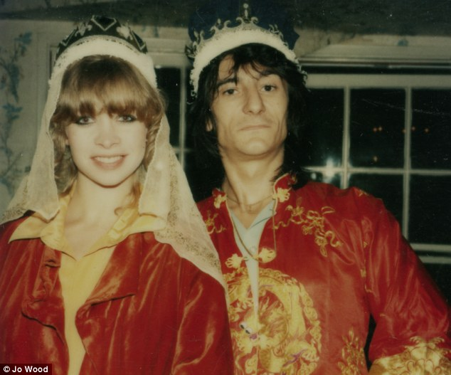 Rock Royalty: Jo and Ronnie host a party in their Los Angeles home in 1978