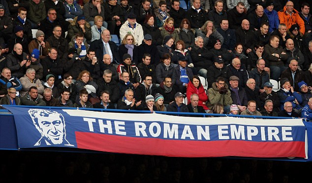 They're not wrong: Chelsea will always be the play thing of Russian owner Roman Abramovich