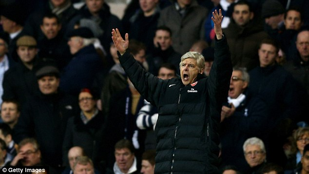 Money man: Arsene Wenger has a kitty of over £100million to spend if he wants to