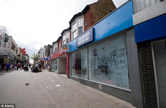 Ghost town: Margate's high street now has a 36.1% vacancy rate