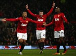 Danny Welbeck pleased with how far he has progressed at Manchester United