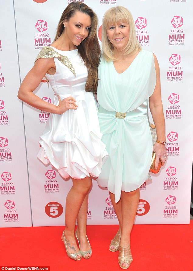 Girls' day out: Michelle Heaton and her mother flattered each other with their pretty spring dresses