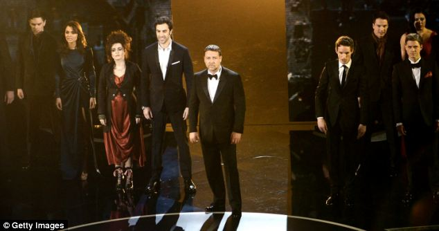 The Les Miserables co-stars, who performed at the Oscars ceremony last month, were 'close' at the after-party