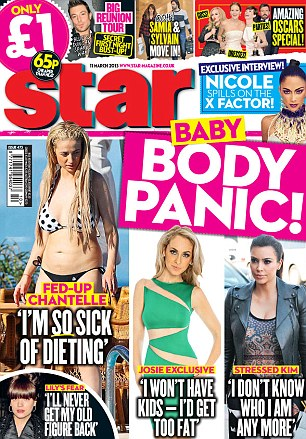 For the full interview pick up a copy of Star magazine, out now