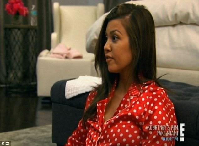 Change of plans: Kourtney is shocked when Scott tells her he wants to bring friends