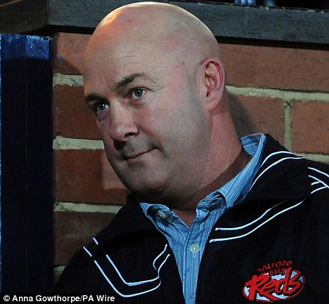 Sacked: Veivers was dismissed from his position as Salford head coach