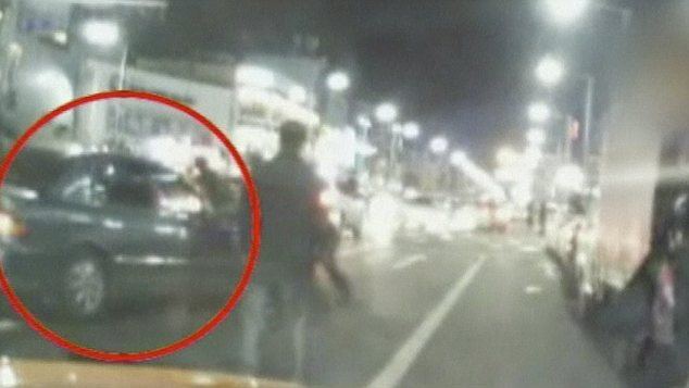 Encounter: Two U.S. soldiers were involved in a car chase through the streets of Seoul with Korean police