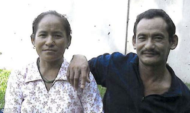 Karnamaya Mongar (pictured with her husband) died after allegedly receiving lethal doses of sedatives and painkillers from Gosnell's untrained workers in 2009
