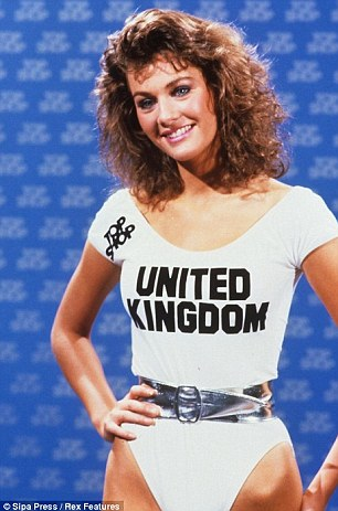 Beauty queen: Kirsty was crowned Miss UK in 1988 and went on to take third place in the 1989 Miss World pageant