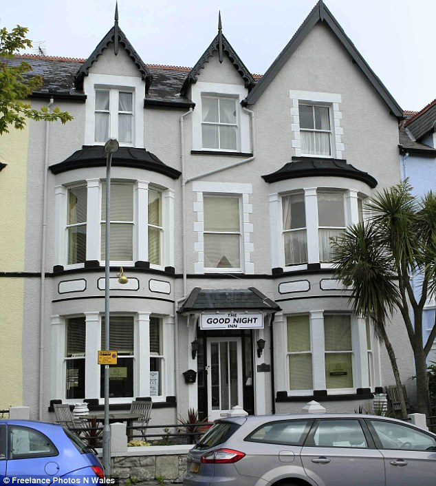 The hotel in LLandudno, which was previously used as a hostel for former members of the armed services, where the Christopher O'Neill is believed to have stolen money from