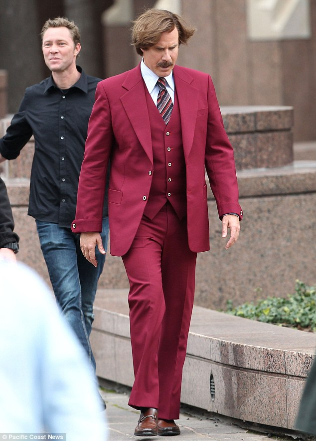Stay classy, San Diego! Not much plot was given away but fans should still get be excited to see Ron's famous suit again