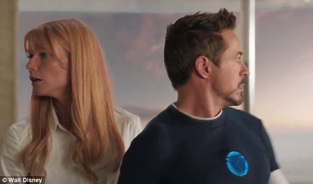 Saviour: As well as fighting those who destroyed his private world, Stark (played by Robert Downey Jr.) must also protect the one thing he loves the most, Potts