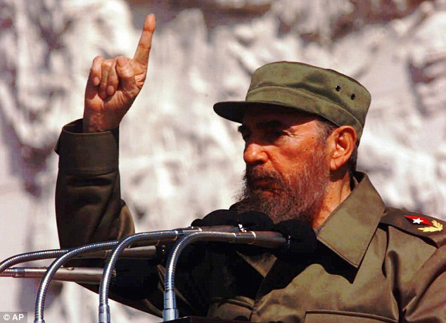 Idol: Cuban President Fidel Castro was one of Chavez's heroes