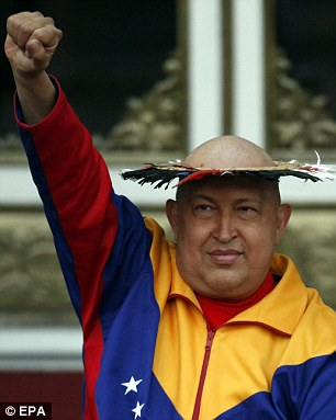 Popular: Chavez survived a coup against his own presidency in 2002 and won re-election two more times