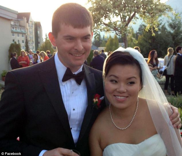 Eric Dalzell and wife Jessica Ko estimated it will be another two months before they are able to move into the house just vacated by Robert Swift