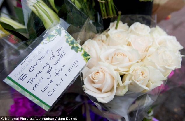 Friends of the woman left messages saying the would miss her, as people were left stunned by the sudden death