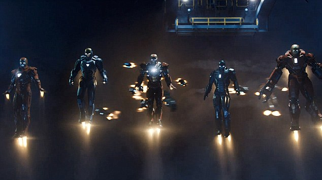 Iron Men: Tony Stark gets some company in the teaser trailer for the third instalement