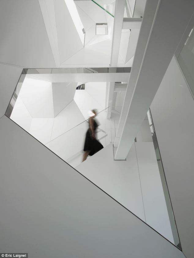 Space: The 7,000-square-foot apartment mixes mathematical complexity with childlike playfulness