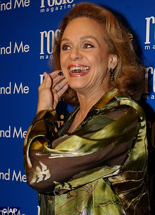 Tragic news: The Mary Tyler Moore star, seen left in a still from the show Rhoda, revealed on Wednesday that she has been diagnosed with terminal brain cancer and has as little as three months to live