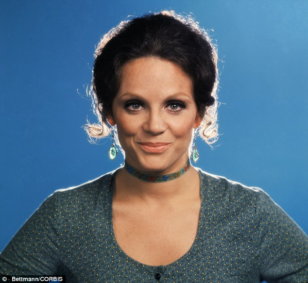 Beloved character: Valerie Harper as brash New Yorker Rhoda in the TV series The Mary Tyler Moore Show