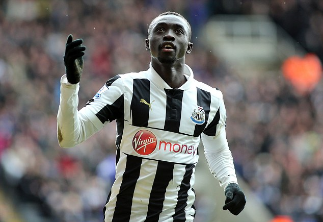 Out: Papiss Cisse will miss Newcastle's trip to Russia through illness