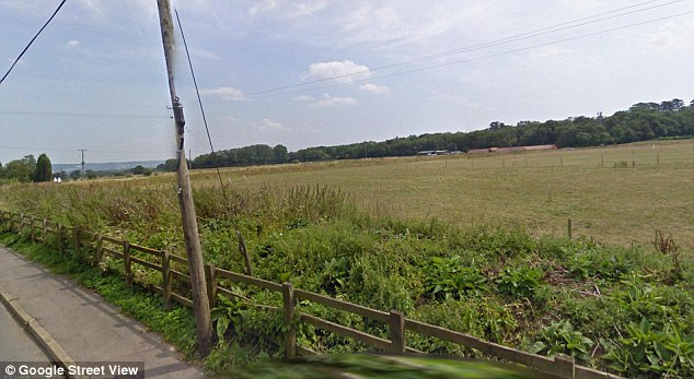 Rip-off: The conmen sold mini-plots of land on Birling Road in West Malling, Kent, for £10,000 each when they were valued at just £363.63