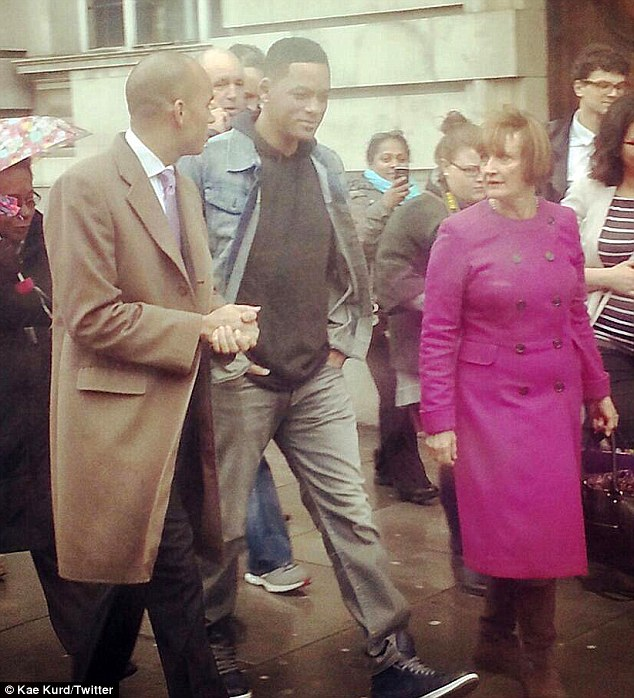 Hey, Fresh Prince! Will Smith takes a stroll through Brixton with Labour Business Secretary Chuka Umunna and Dame Tessa Jowell