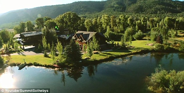 Picturesque: This is the $29 million ranch that Daisha Inman tried to blow her kids' trust fund on