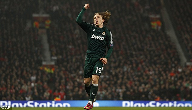 Remember me? Luke Modric was linked with United before he left Tottenham for Real Madrid