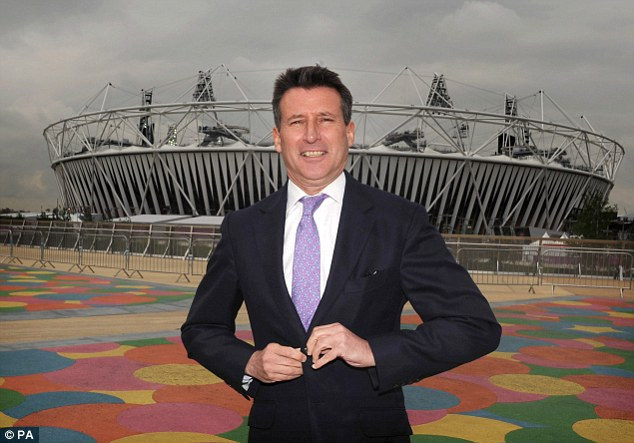 Mastermind: Lord Coe outside the Olympic Stadium in Stratford, London