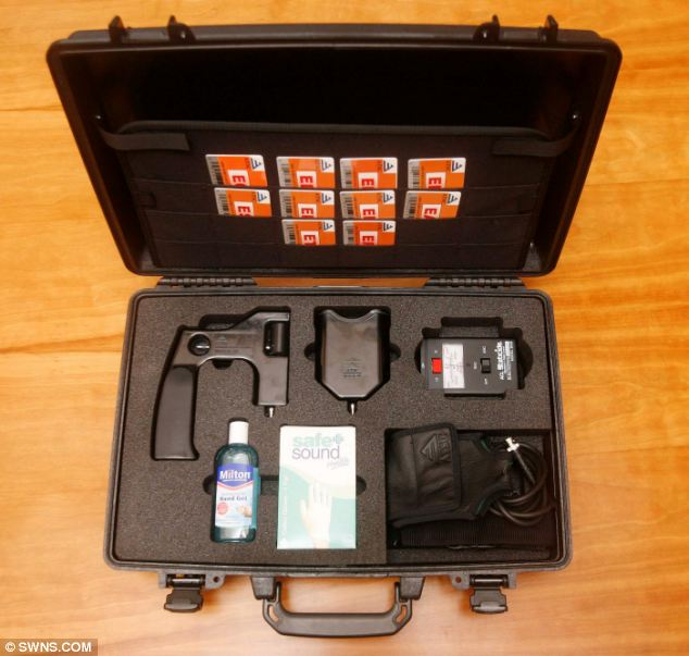Device: The Advanced Detection Equipment 651 was sold for tens of thousands of dollars