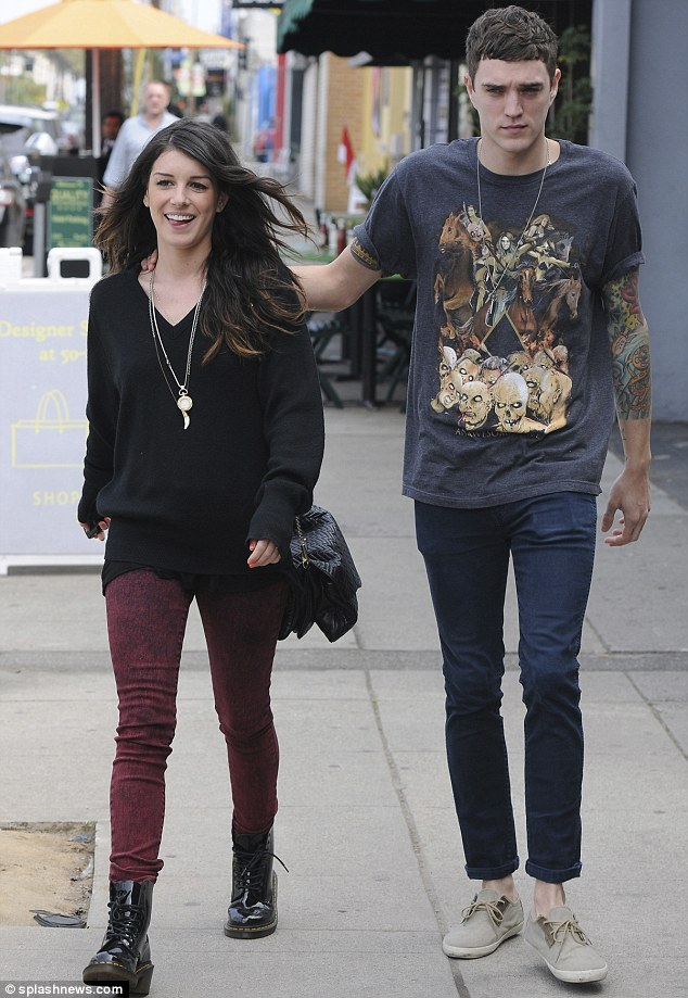 Lovebirds: The pair have been dating since the spring of 2012