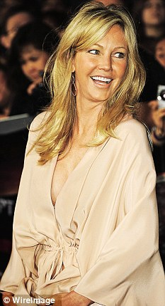 Heather Locklear watched me record my cameo appearance