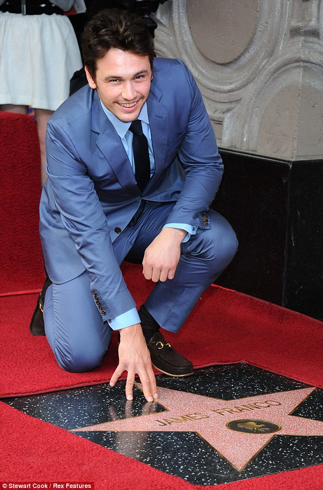 What an honor! James Franco got a star on the Hollywood Walk of Fame on Thursday in Los Angeles, California