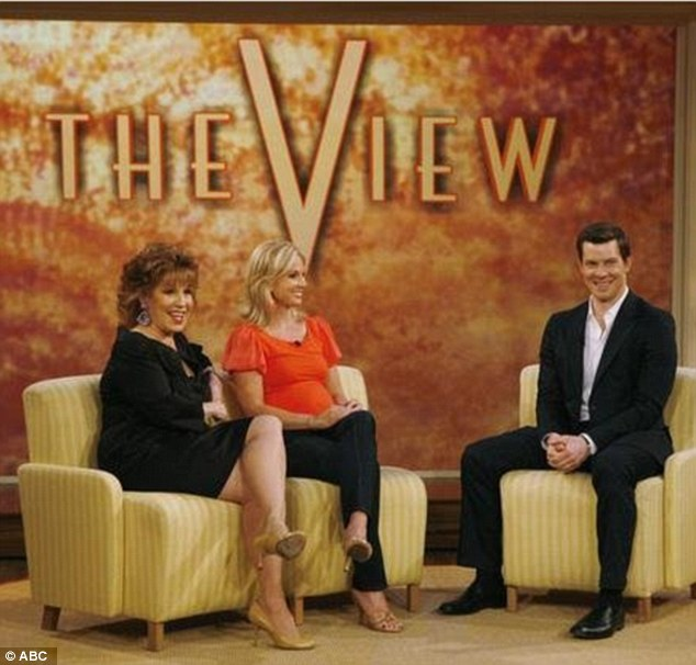 Sofa so good: Stalwart Behar has been one of the reasons The View has been on TV almost 17 years